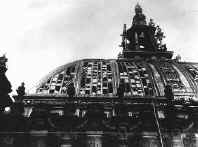 German parliament building destroyed by fire on February 27, 1933